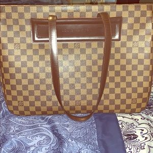 Louis Vuitton Parioli Gm Damier Ébène Canvas Tote
